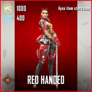 Red Handed Loba Apex Legends Skin Anniversary Event