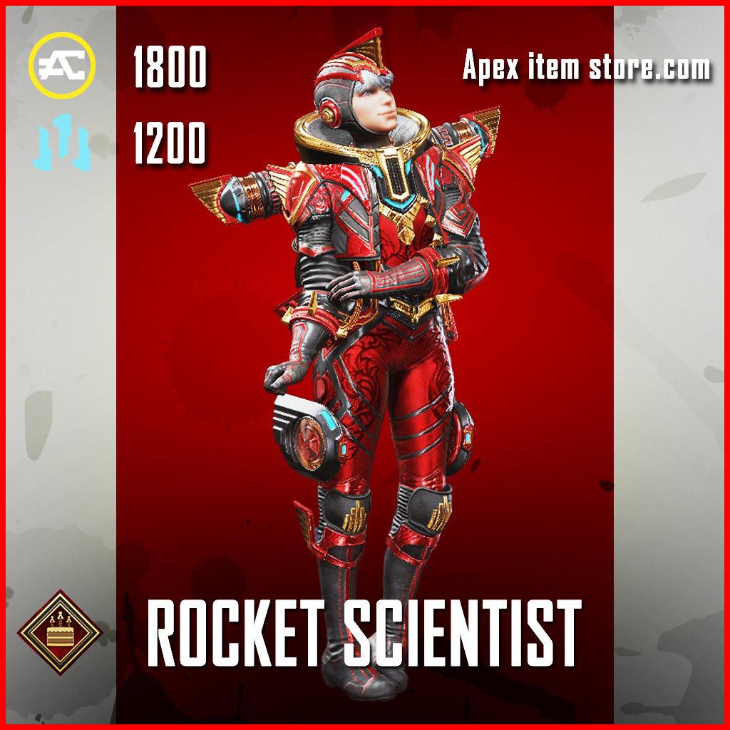 Rocket Scientist Wattson Apex Legends Skin Anniversary Event