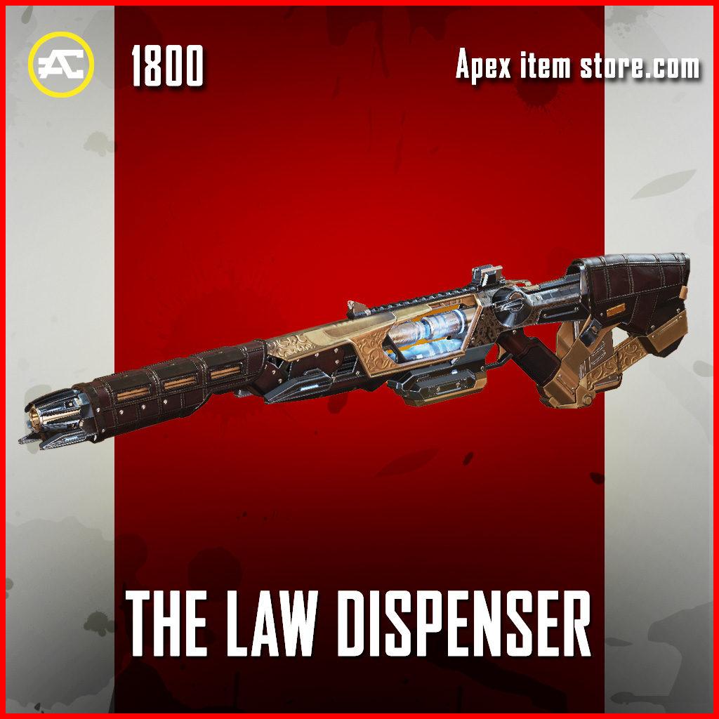 The Law Dispenser Sentinel APex legends skin