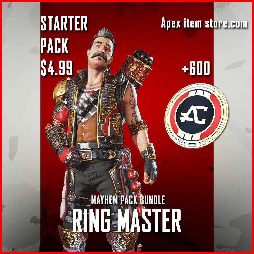 mayhem starter pack Fuse ring master
