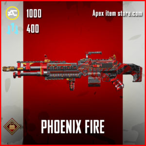 Phoenix Fire Spitfire Apex Legends Skin Anniversary Event