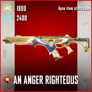 An Agnger Righteous R-301 Skin Apex Legends