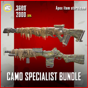 Camo Specialist Apex Legends Bundle