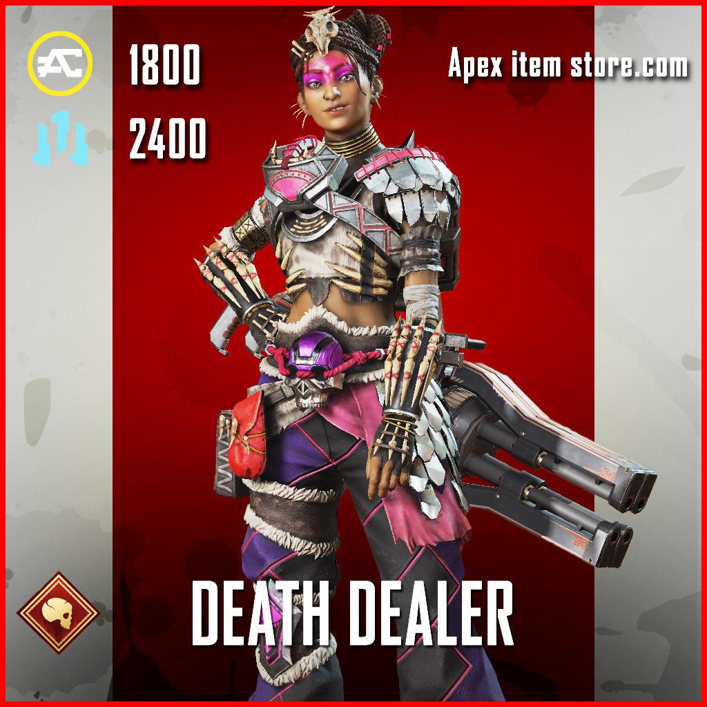 Death Dealer Rampart Skin Apex Legends
