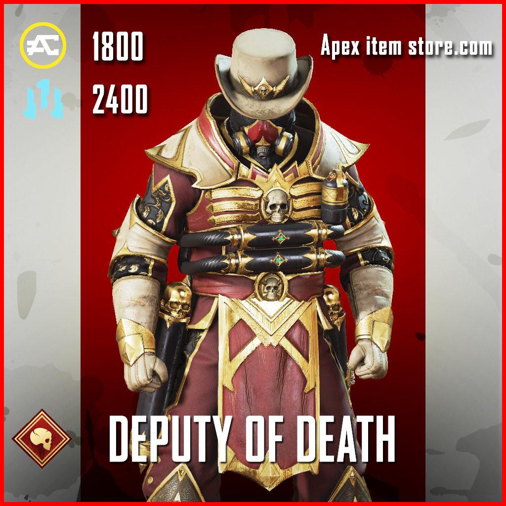 Deputy of Death Caustic Skin Apex Legends