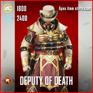 Deputy of Death Caustic Skin Apex Legends