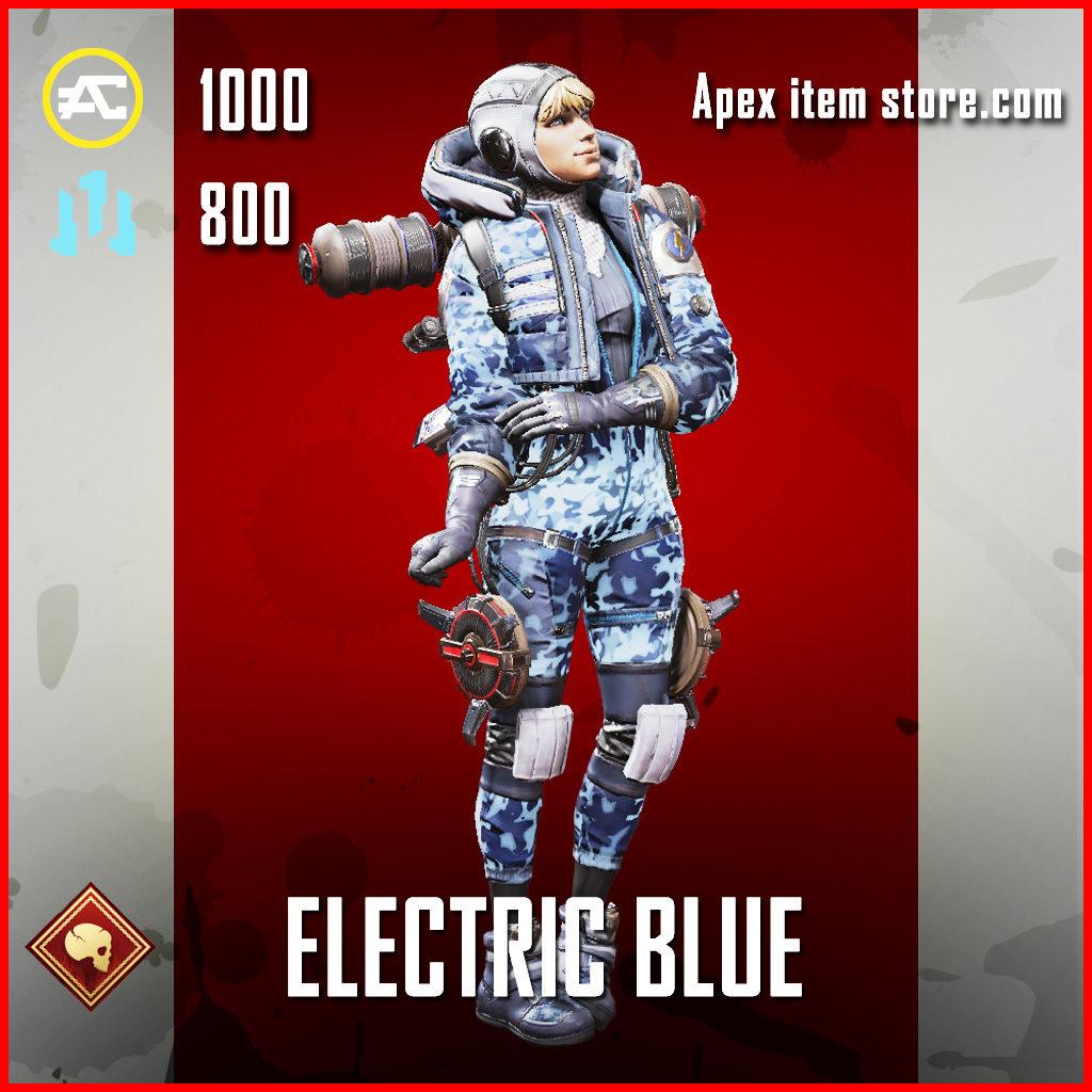 El;ectric Blue Wattson Skin APex Legends