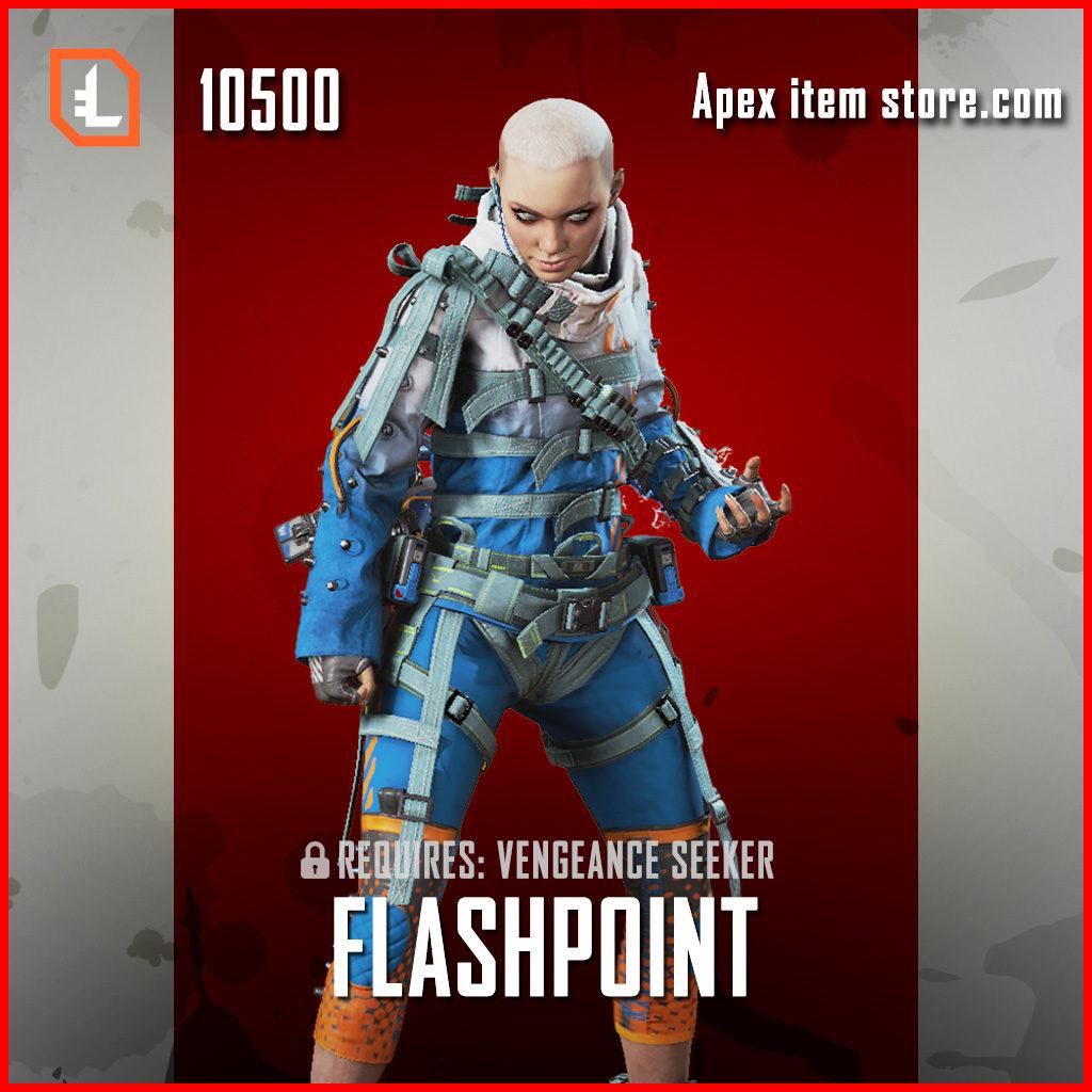 Flashpoint wraith legendary apex legends skin