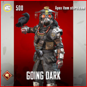 Going Dark Bloodhound Apex Legends Skin
