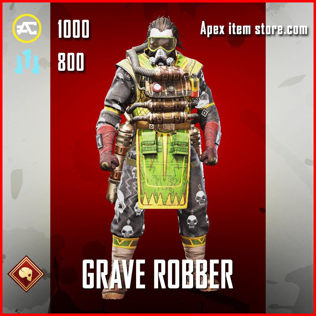 Grave Robber Caustic skin Skin APex Legends