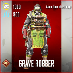 Grave Robber Caustic skin Skin APex Legends