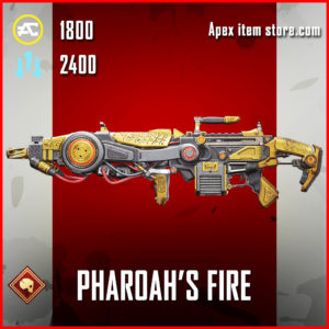 Pharoah's Fire Spitfire Skin Apex Legends