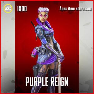 Purple Reign Loba Apex Legends Skin