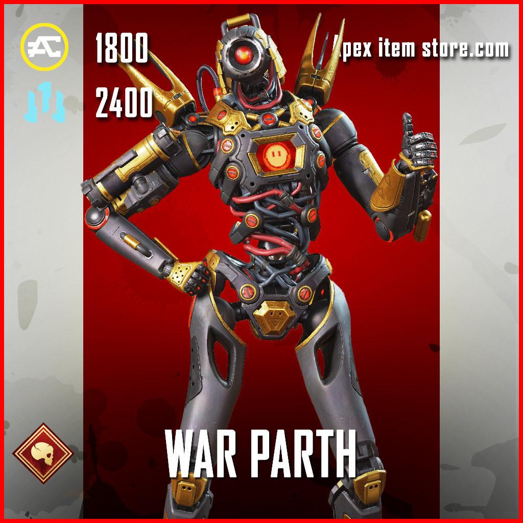War Parth Pathfinder Skin Apex Legends
