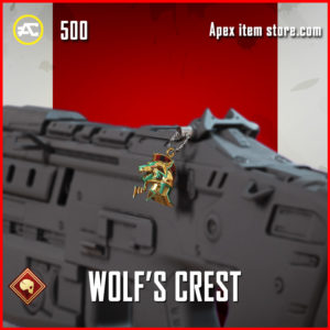Wolf's Crest apex legends charm
