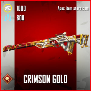Crimson Gold Triple Take epic skin apex legends