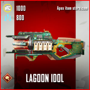 Lagoon Idol Epic Charge Rifle Skin Apex Legends