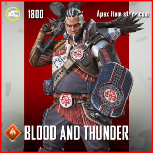 Blood and thunder gibraltar skin apex legends