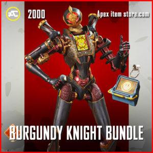 burgundy knight bundle apex legends
