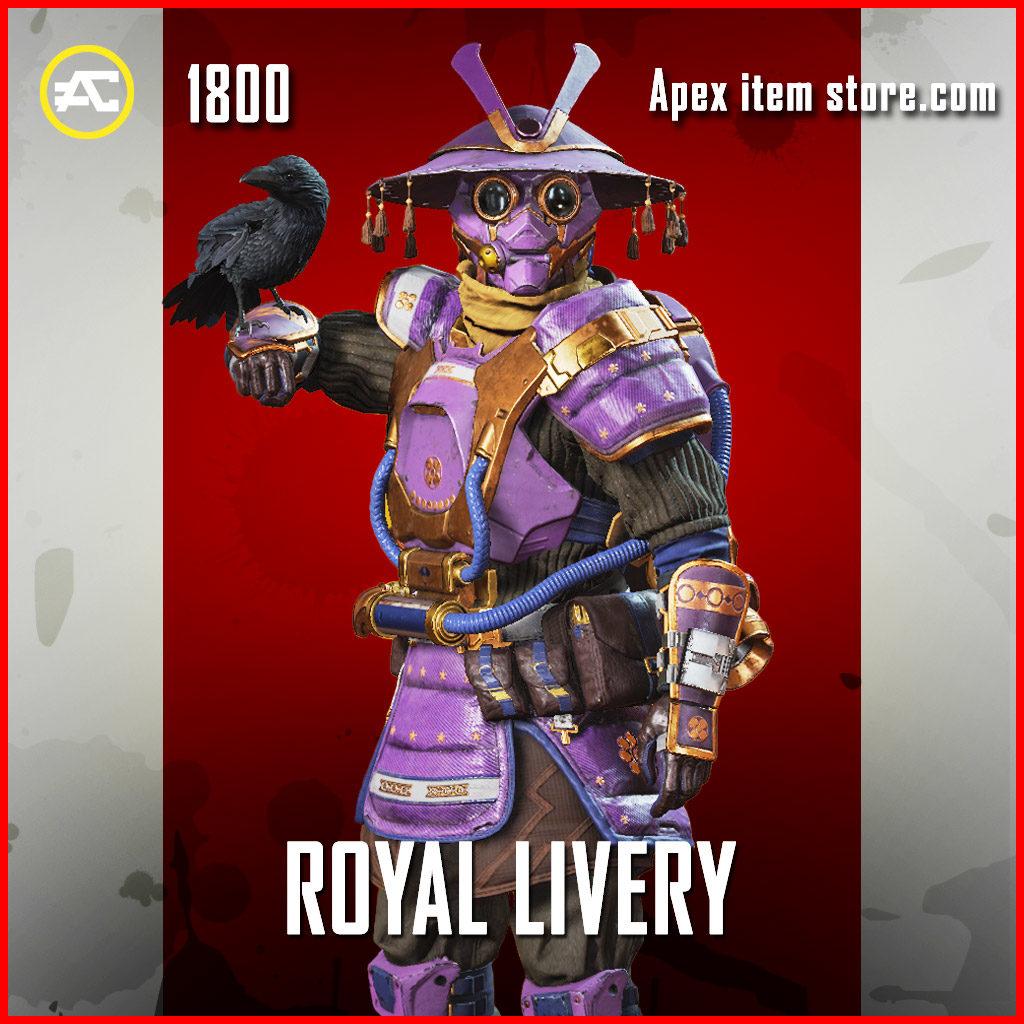 royal livery bloodhound apex legends skin