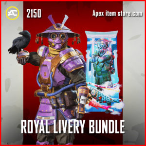 royal livery bundle bloodhound apex legends