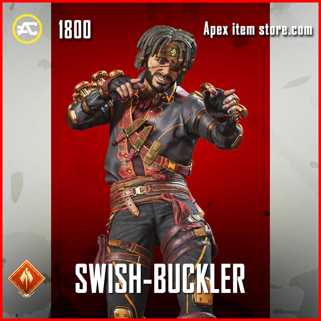 swish buckler legendary mirage skin apex legends