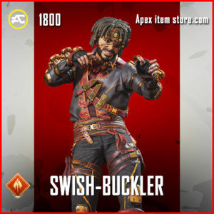 swish buckler legendary mirage skin apex legends