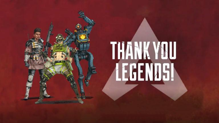 Apex Legends: 100 Million Unique Players Achievement and S9 Teaser