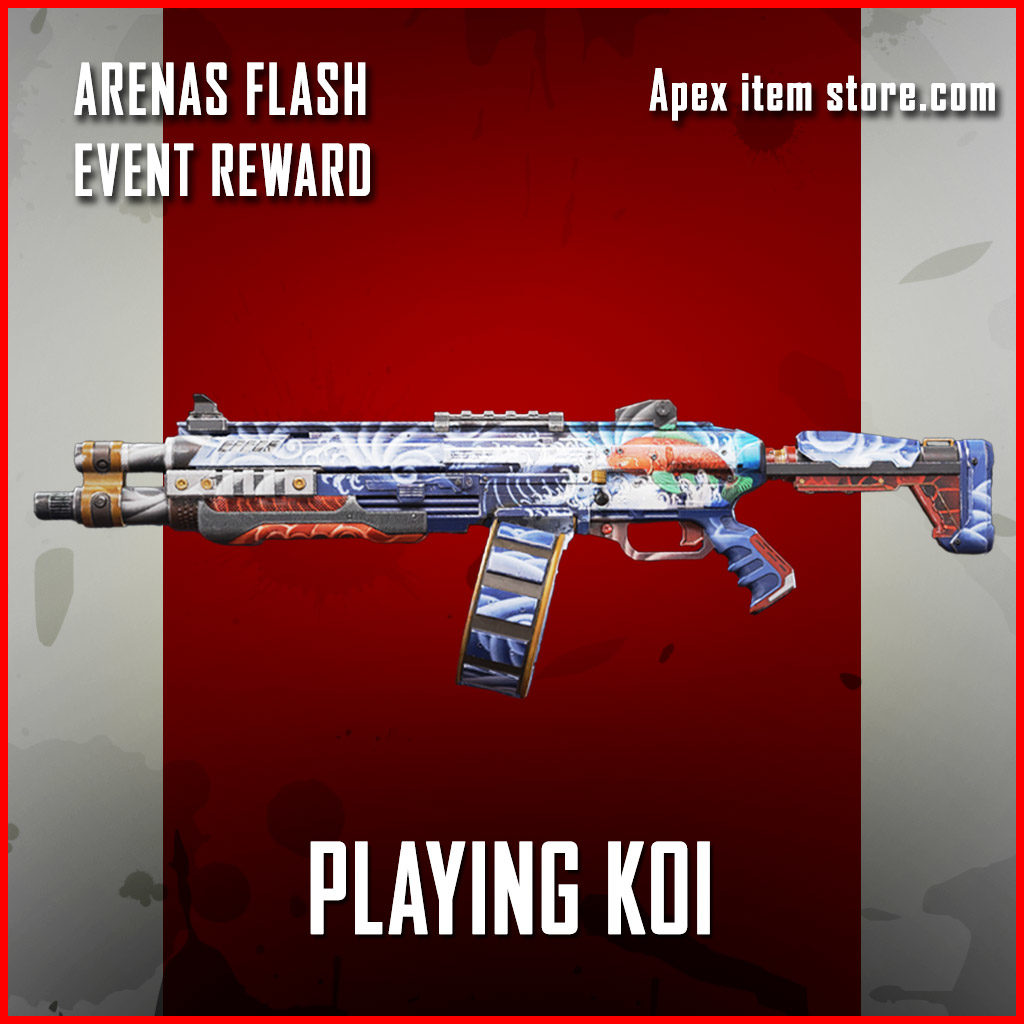 playing koi EVA-8 Auto arenas flash reward skin
