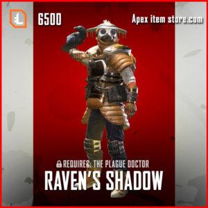 Ravens Shadow legendary bloodhound skin apex legends
