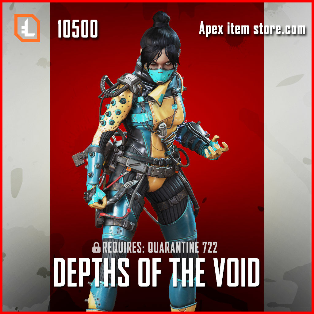 Depths of the void wraith legendary exclusive apex legends skin