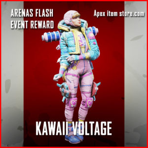 kawaii voltage arenas flash event wattson skin