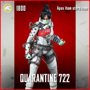 Quarantine 722 legendary wraith apex legends skin