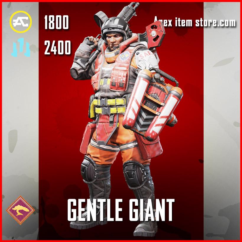 Gentle Giant Legendary gibraltar skin