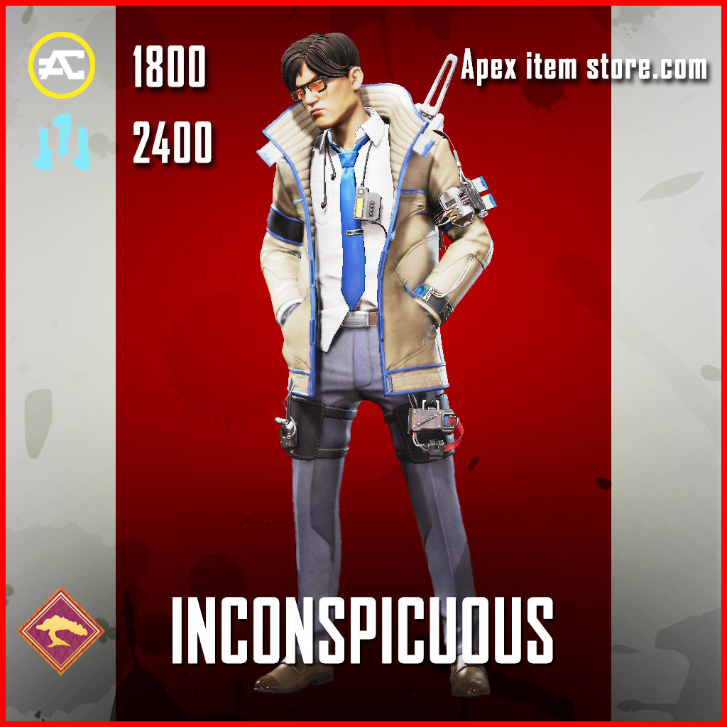 Inconspicuous Legendary Crypto Skin
