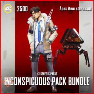 Inconspicuous Pack Apex Legends Bundle