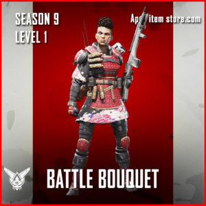 battle bouquet bangalore rare Battle Pass Season 9 Skin Apex Legends