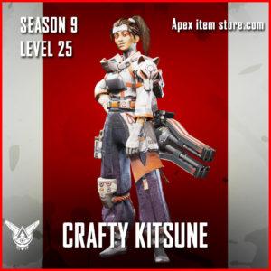 crafty kitsune rampart legendary Battle Pass Season 9 Skin Apex Legends