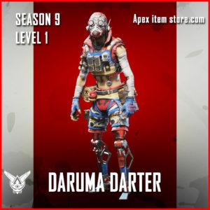 daruma darter octane rare Battle Pass Season 9 Skin Apex Legends