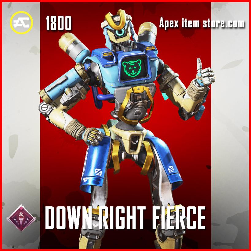 Down Right Fierce Pathfinder Apex Legends Skin