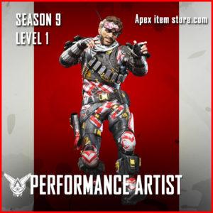 performance artist mirage rare Battle Pass Season 9 Skin Apex Legends