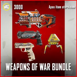 weapons of war bundle