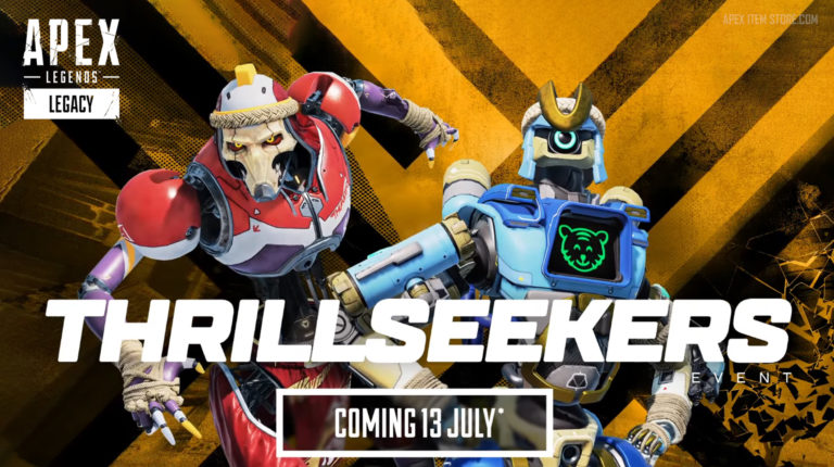 Apex Legends: Thrillseekers Event Trailer Leaked Early on Steam