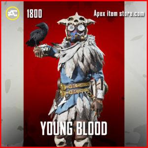 young blood legendary bloodhound skin apex legends
