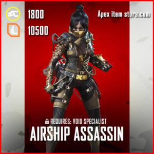 Airship Assassin legendary wraith skin apex legends
