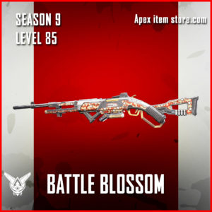 Battle Blossom rare 30-30 repeater skin Apex Legends Season 9 Battle Pass Level 85