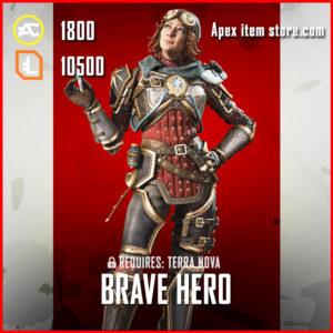 Brave Hero Horizon Apex Legends Skin