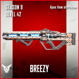 breezy rare havoc skin Apex Legends Battle Pass Season 9 Legacy Level 42