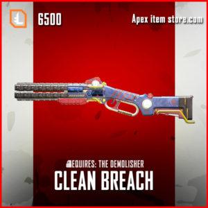 clean breach legendary epacekeeper skin apex legends