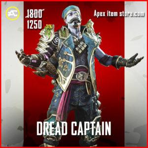 Dread Captain Fuse Legendary Apex Legends Skin